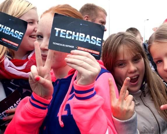 15.000 bezoekers op Techbase. Jongeren event.